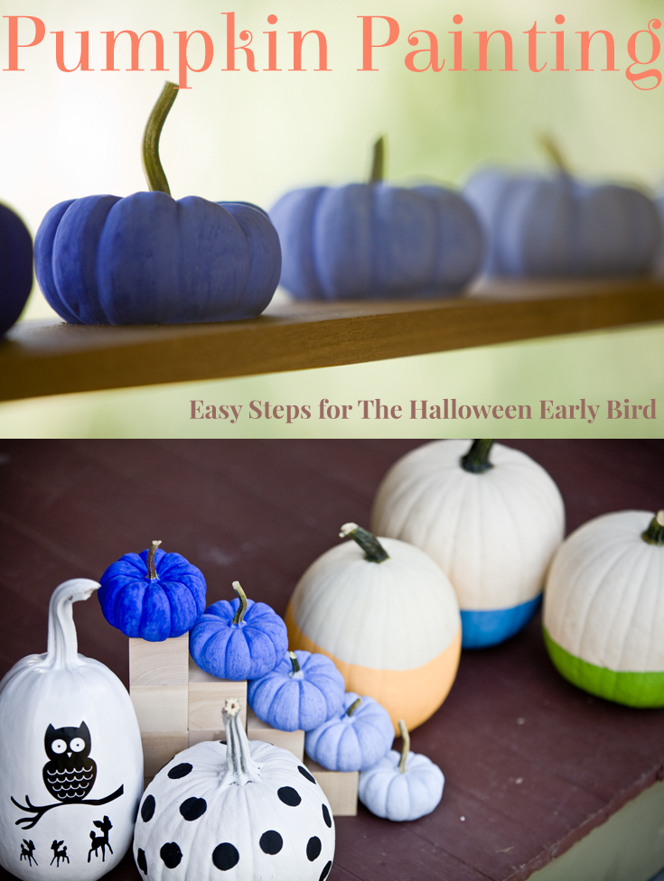 Painting Pumpkins 3 Ways Plus A Cheat Mom Projects