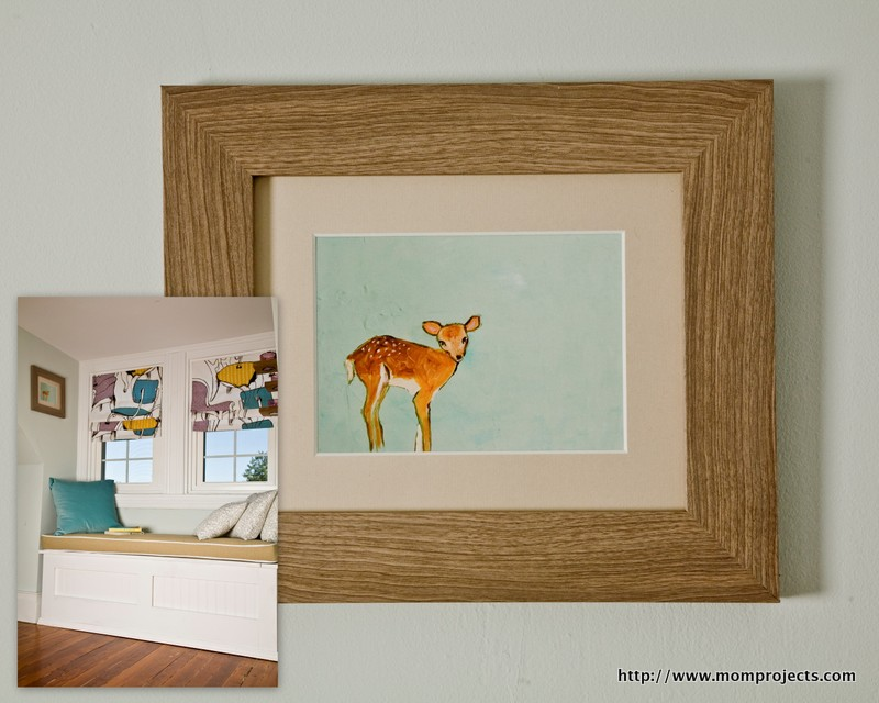 Deer Print By Karla at Etsy Shop Enrouge